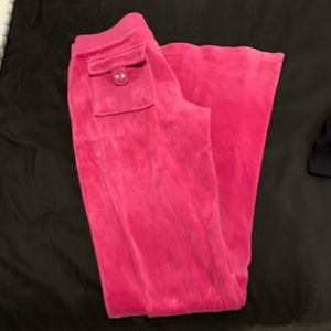 Juicy Couture pink flare pants!
